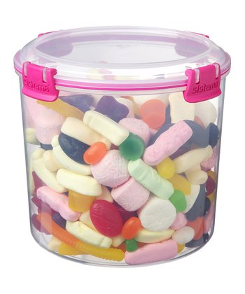 Pink Candy Accents Container