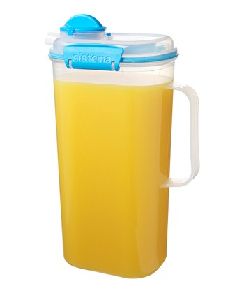 Blue 67-Oz. Juice Jug
