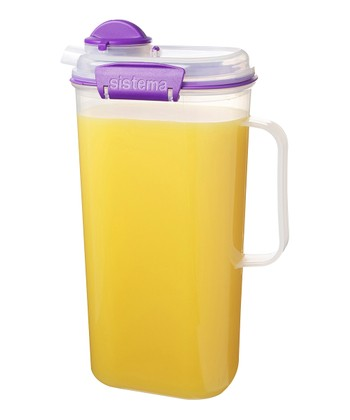 Purple 67-Oz. Juice Jug