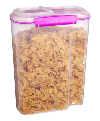 Pink Cereal Accents Container