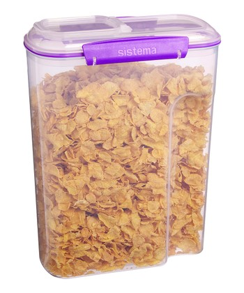 Purple Cereal Accents Container