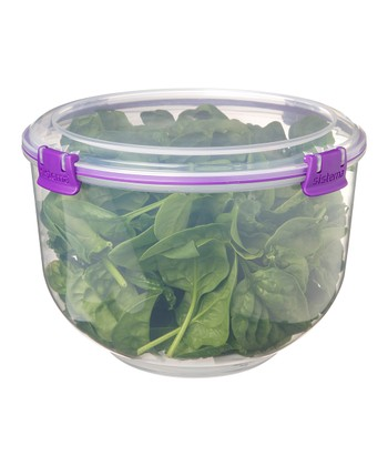 Purple Salad Accents Container