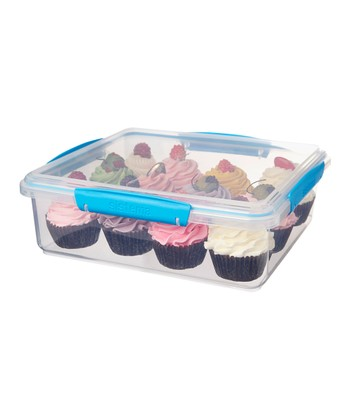 Blue KLIP IT Bakery Accents Container