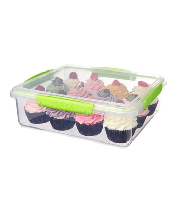 Green KLIP IT Bakery Accents Container