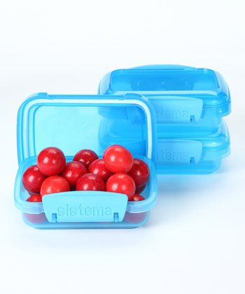 Blue 200-mL Container - Set of Three