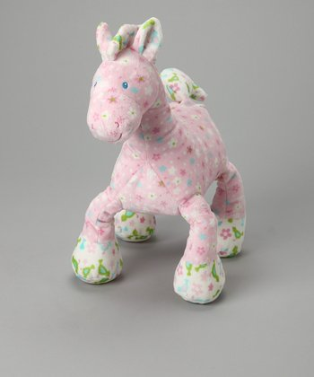 Pink Pony Plush Toy