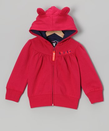 Cherry Jubilee Snow Cute Zip-Up Hoodie - Infant, Toddler & Girls