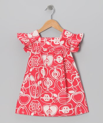 Rouge Red Orchard Dress - Infant
