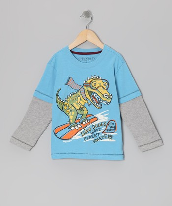 Heritage Blue Layered Tee - Infant, Toddler & Boys