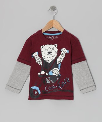 Zinfandel Layered Tee - Infant, Toddler & Boys