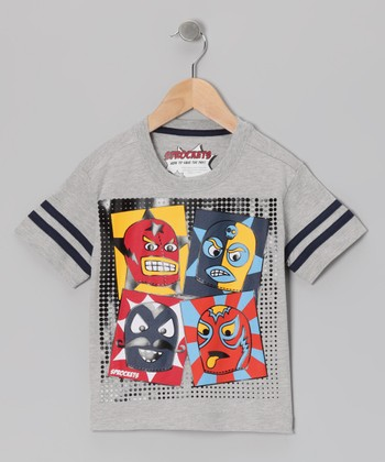 Heather Gray Avenger Tee - Infant, Toddler & Boys
