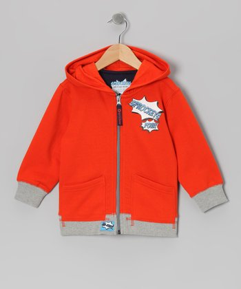 Pureed Pumpkin Hero Zip-Up Hoodie - Infant & Toddler