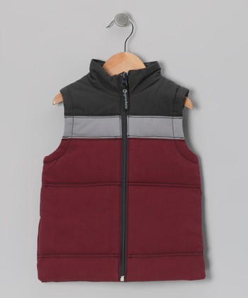 Zinfandel Sledding Vest - Toddler & Boys