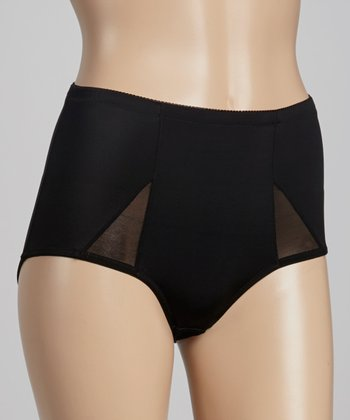 Black All Wrapped Up Shaper French-Cut Briefs