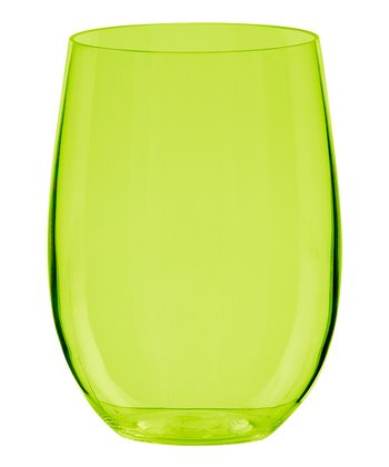 Kiwi Adele 20-Oz. Stemless Wine Glass - Set of Six
