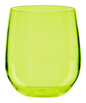 Kiwi Adele 14-oz. Stemless Wine Glass - Set of Six