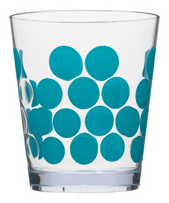 Azure Dot 14-Oz. Double Old Fashioned Tumbler - Set of Six