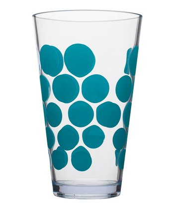 Azure Dot 19-Oz. Highball Tumbler - Set of six