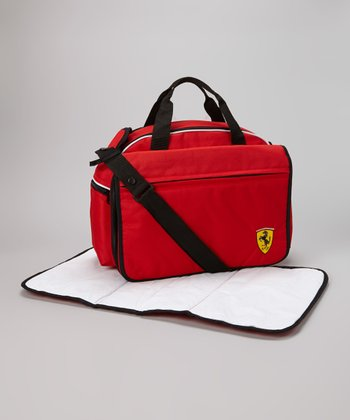 Red Ferrari Mamma Diaper Bag