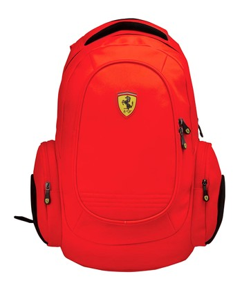 Red Ferrari Laptop Backpack