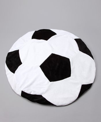 Goalie Soccer Ball Blanket