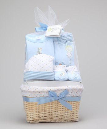 Blue Bird Seven-Piece Basket Set