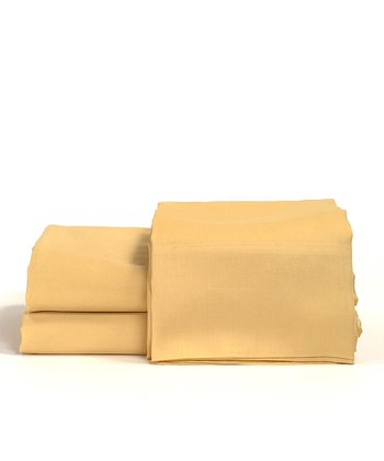 Chamois Cotton Sateen Sheet Set