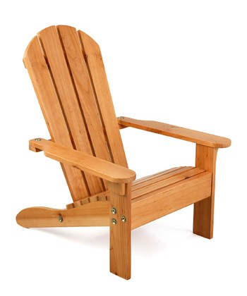 Honey Adirondack Chair