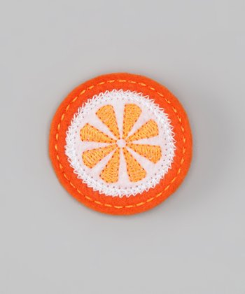 Orange Slice Clip
