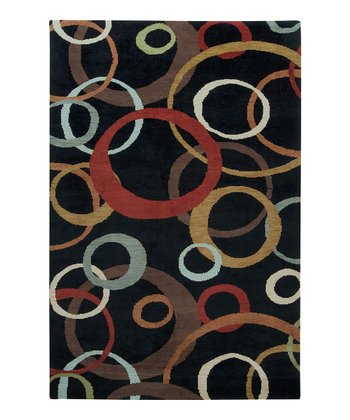 Black Cirlce Apollo Wool Rug