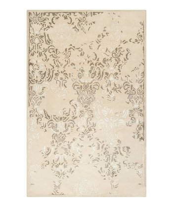 Antique White Banshee Wool Rug