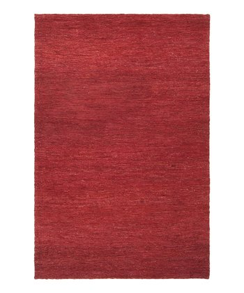 Red Dominican Hemp Rug