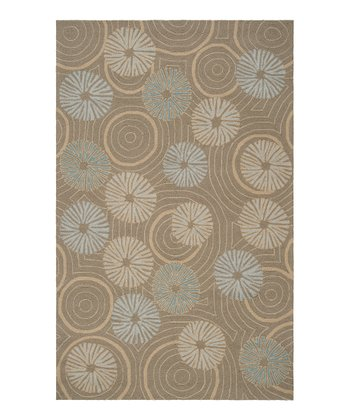 Gray & Sage Labrinth Indoor/Outdoor Rug