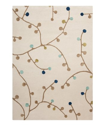 Putty & Avocado Branch Scion Wool Rug