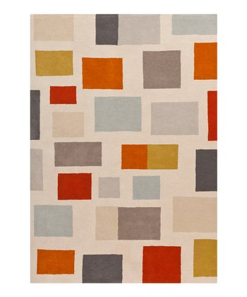 Putty & Slate Gray Scion Wool Rug