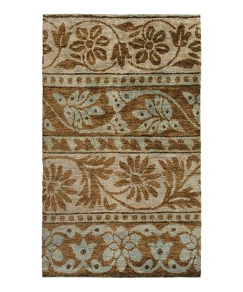 Mushroom & Brown Scarborough Hemp Rug