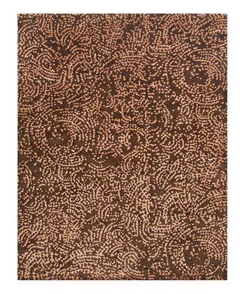 Chocolate Shibui Wool Rug