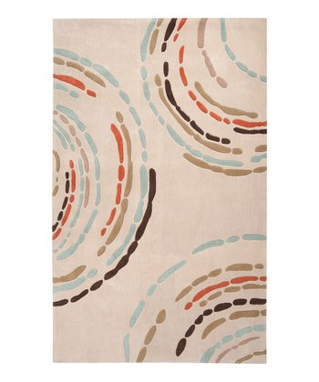 Tan & Burnt Orange Sprint Rug