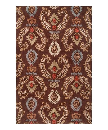 Coffee Bean Mason Rug