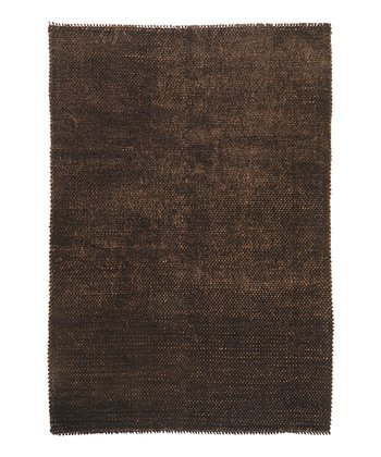 Chocolate Shadow Wool Rug
