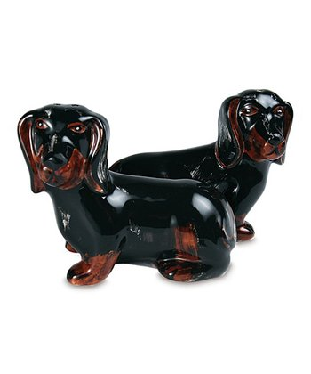 Toby & Macy Dachshund Salt & Pepper Shaker Set