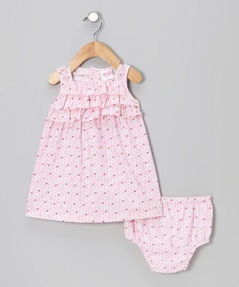 Pink Floral Dress - Infant & Toddler