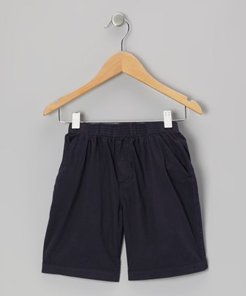 Dark Navy Shorts - Infant, Toddler & Boys