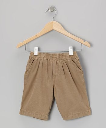 Khaki Shorts - Toddler & Boys