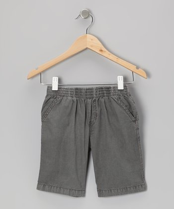 Stone Gray Shorts - Infant, Toddler & Boys