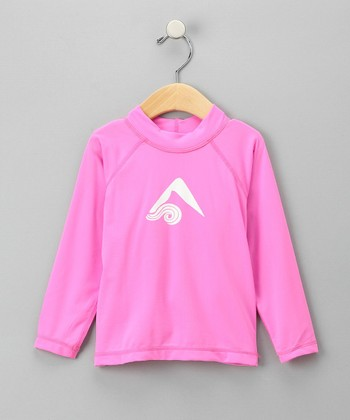 Pink Keri Rashguard - Toddler & Girls