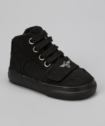 Black Cesario Hi-Top Sneaker