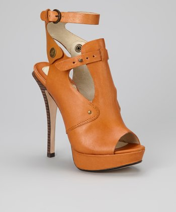 Saddle Sirocco Leather Sandal