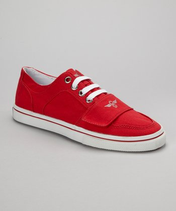 Red Cesario Lo XVI Sneaker - Women