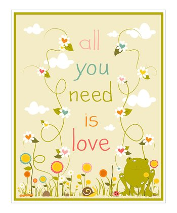 Garden 'All You Need' Giclée Print